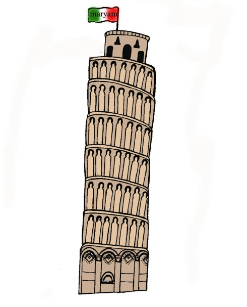 leaninf pisa tower